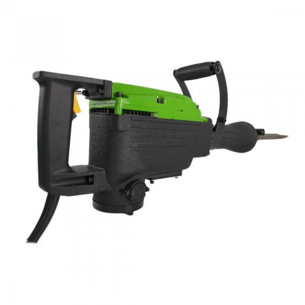 Ciocan Demolator Procraft PSH 2500 cu 2.5 kW, 48 J, 1400 bpm + Carbuni rezerva + Accesorii