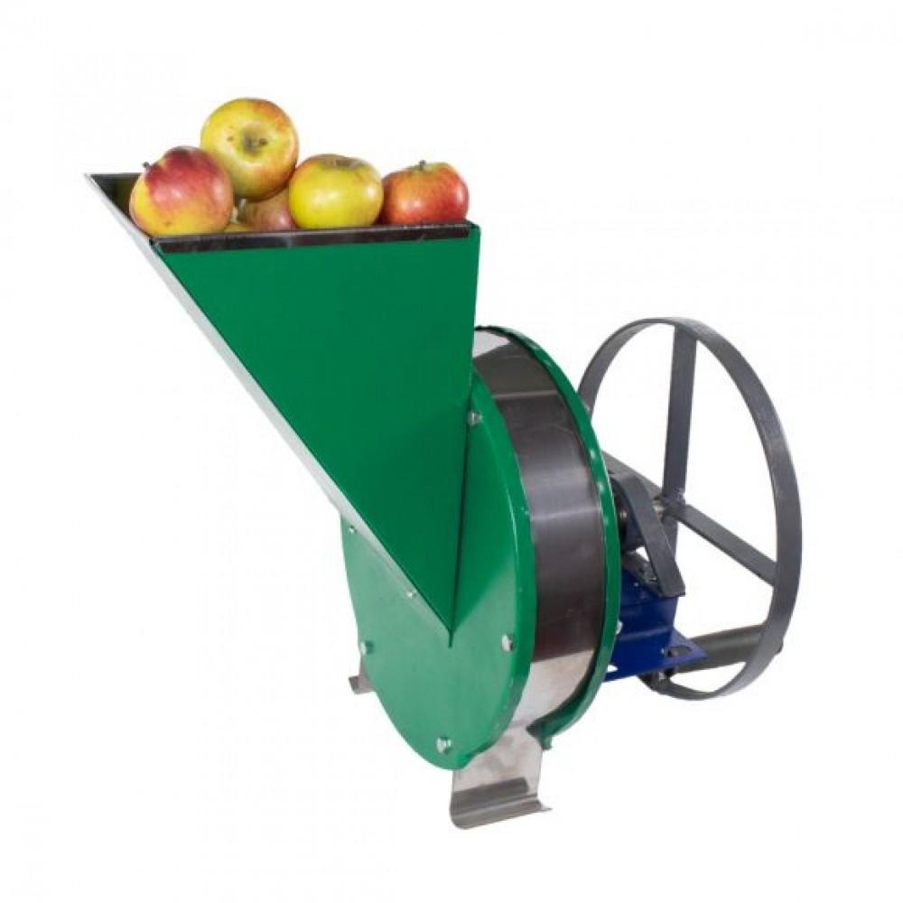 Razatoare fructe Vinita, manuala + fulie atasare motor, Cuva inox