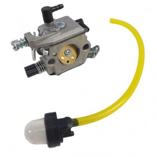 Carburator de drujba 3 orificii + furtun cu pompita de amorsare