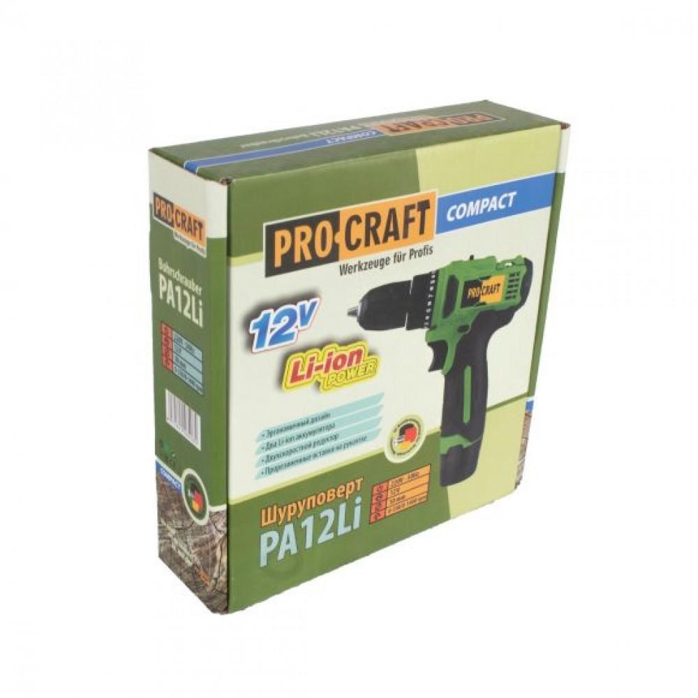 Autofiletanta Procraf Compact PA12Li, 12V, 1.5 Ah + 2 acumulatori, Model 2020