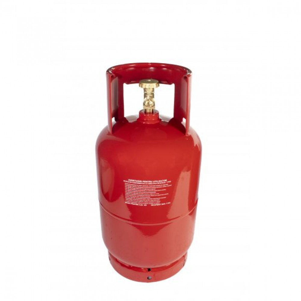 Butelie pentru camping ELEFANT GPL din Metal, 12 L, 5 kg, filet 1/2
