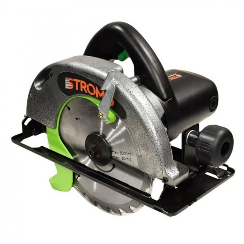 Circular de mana Stromo SC2550, 2.55kW, 4100 rpm, 235x25.4mm + Panza
