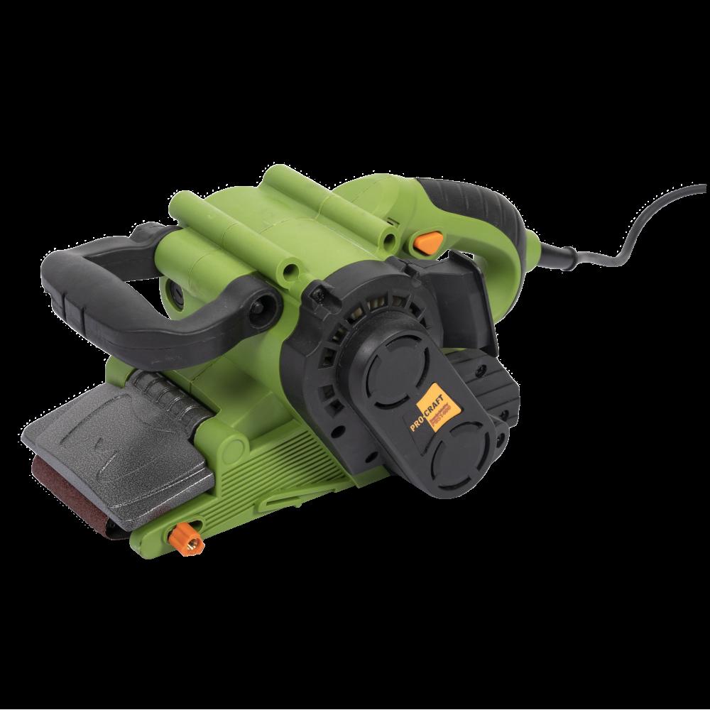 Masina de slefuit ProCraft PBS 1400W, 120-260 m/min, 457 mm x 76 mm