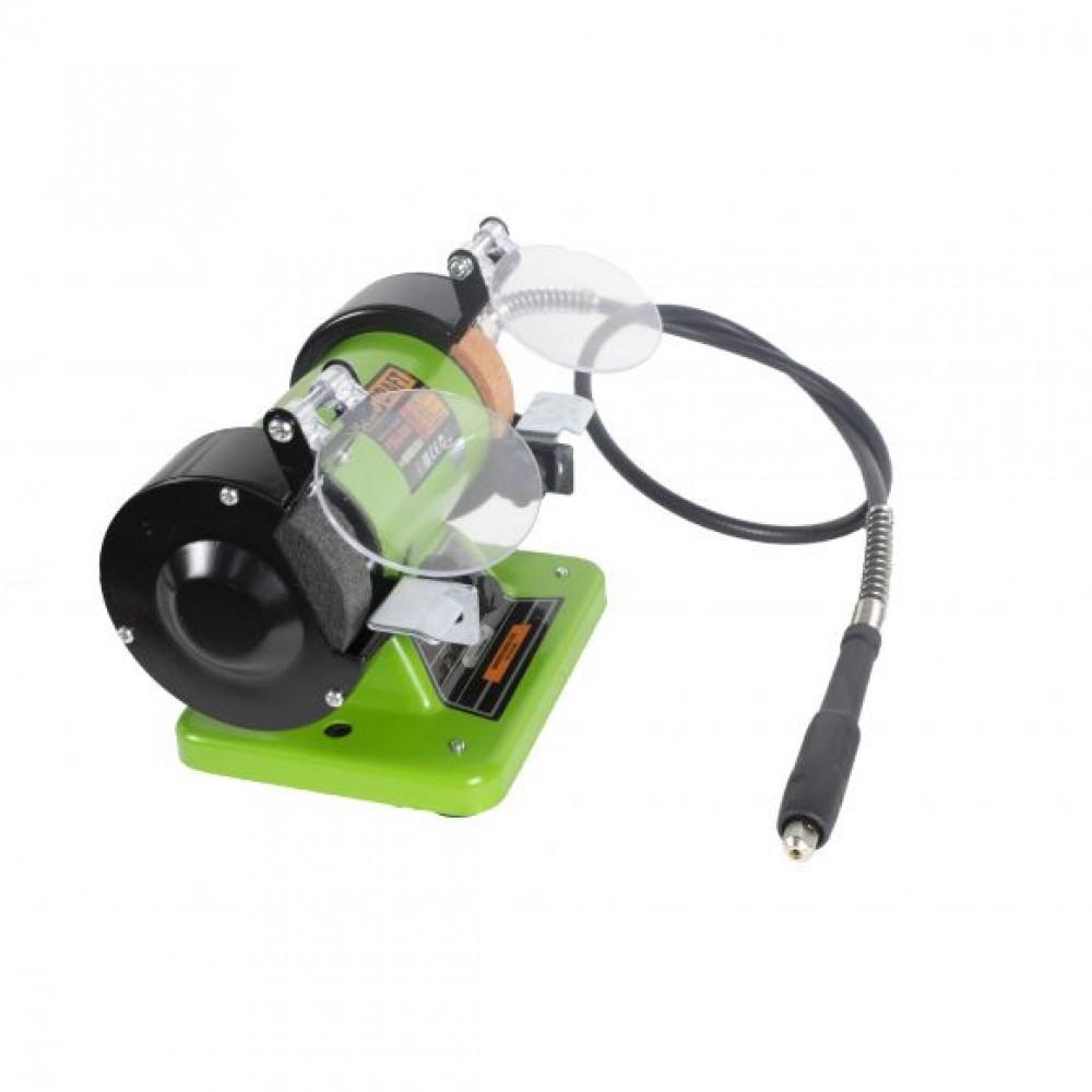 Polizor de banc cu gravor Procraft PBG 400, 400 W, 10000 RPM, 75 mm