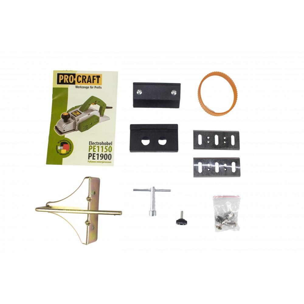Rindea electrica Procraft PE1150, 82mm 1150W cu set accesorii
