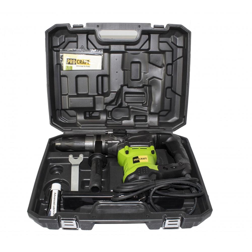 Ciocan Rotopercutor Procraft BH2350 SDS MAX, 9J, 2350 W, 550 rpm, 3850 bpm