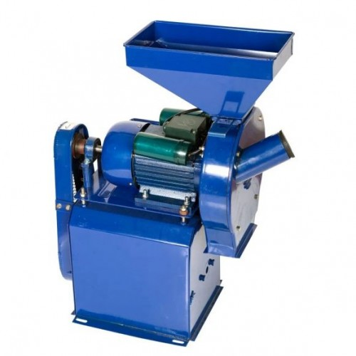 Moara electrica de cereale si stiuleti + Batoza de porumb TEMP 2.5 kW, 3000 rpm, 500 kg/h