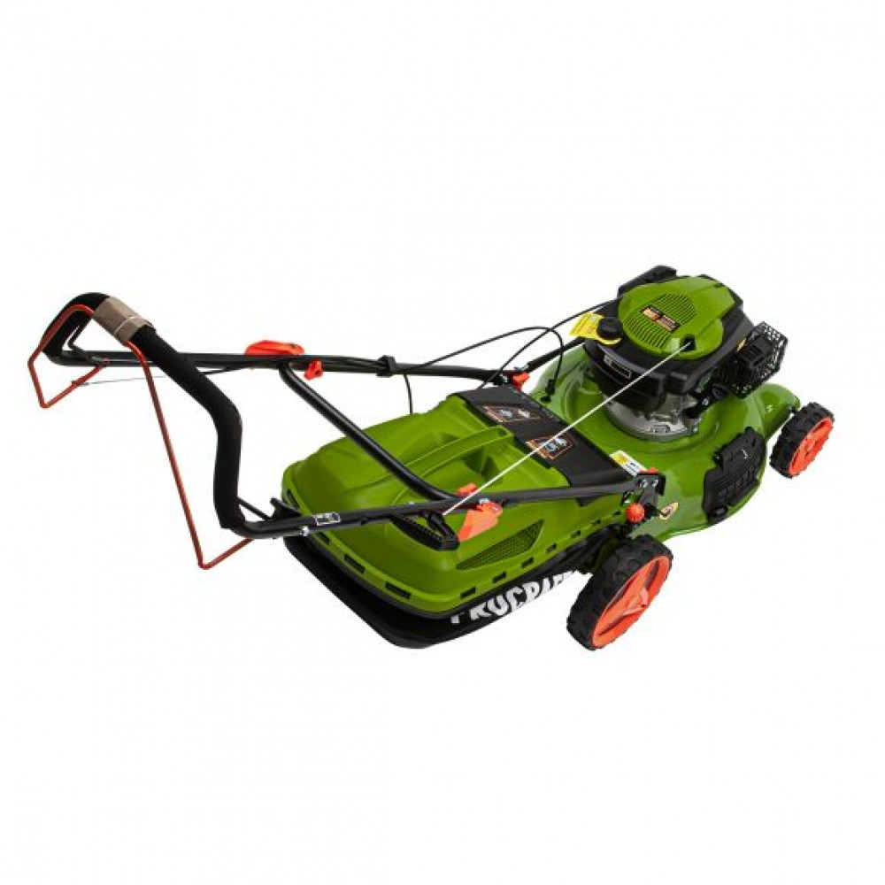 Masina de tuns gazonul Procraft PLM505 Autopropulsie, Volum cos 60l, Benzina, 4.4 CP, 3000 rot/min, 173 cc, cutit rezerva