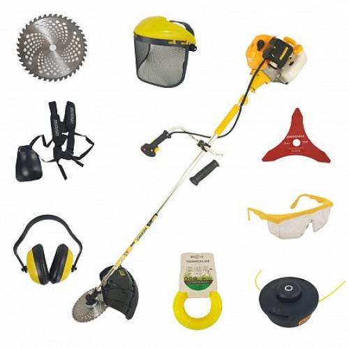Motocoasa benzina Kratos MC4200, 5 CP, 10000 rpm, 52 cc,+SuperSet 10 accesorii