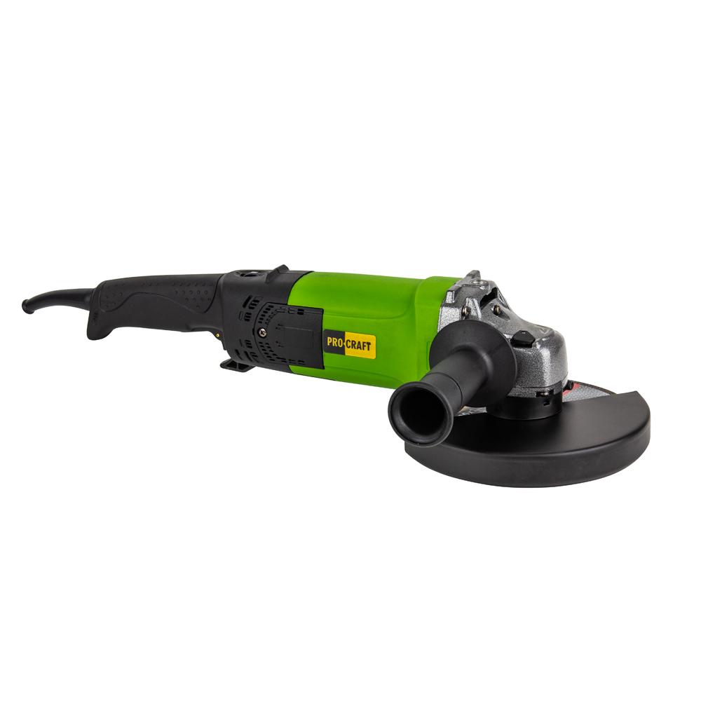 Polizor unghiular flex Procraft PW 2200ES, 180mm, 2200W - Model 2020
