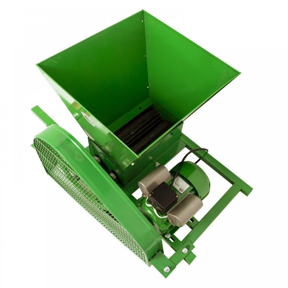 Zdrobitor electric pentru struguri FERMER, 1800 W, cuva 35l, 240kg/h